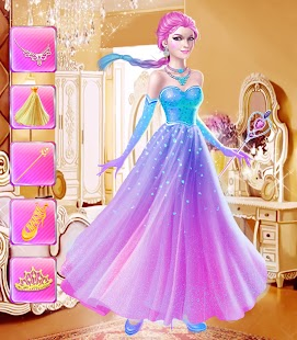Beauty princess makeover salon android apps on google play for A little luxury beauty salon