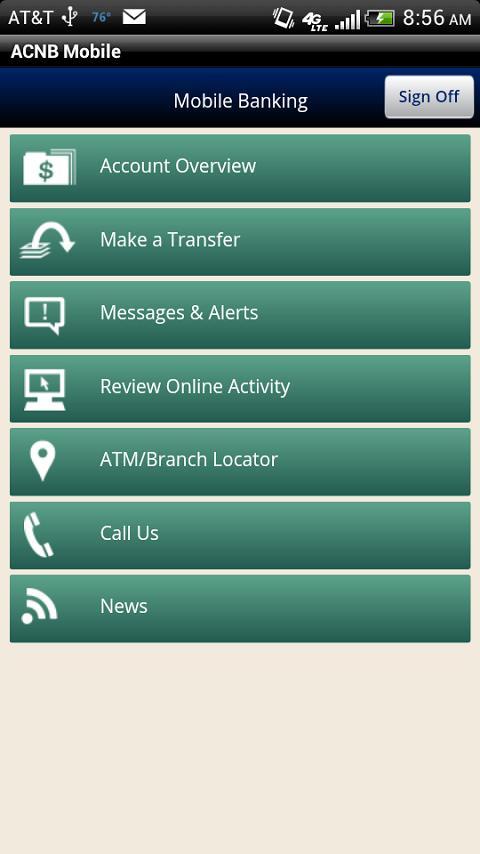 ACNB Mobile - screenshot