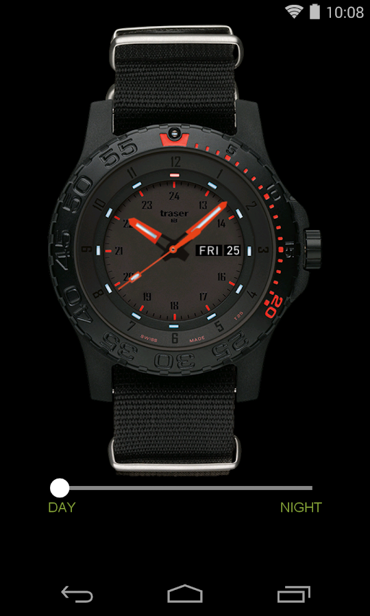 traser® H3 – Swiss made watch- screenshot