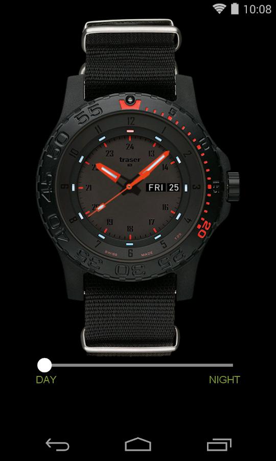 traser® H3 – Swiss made watch - screenshot
