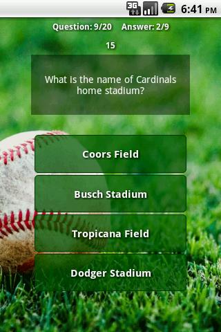 Trivia for MLB