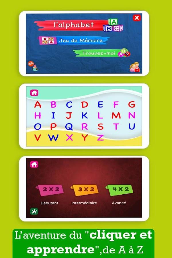 Favori Apprendre L'alphabet français - Applications Android sur Google Play IN54