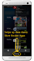 Screenshot of Swipe Home Button