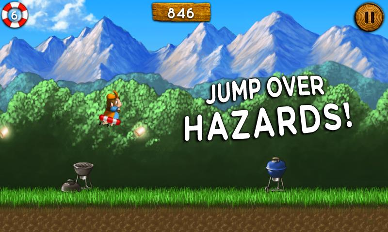 Bob vs Bear - Fun Runner Game!- screenshot