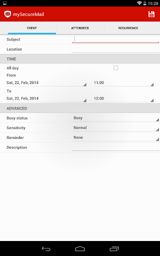 【免費商業App】my Secure Exchange ActiveSync-APP點子