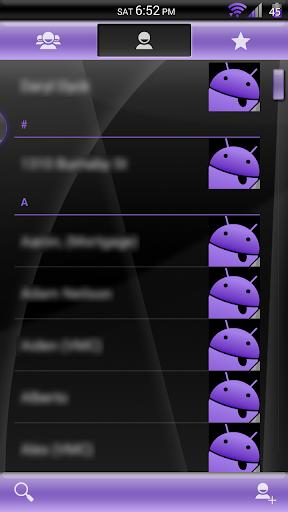 【免費個人化App】Gloss Purple CM11/AOKP Theme-APP點子