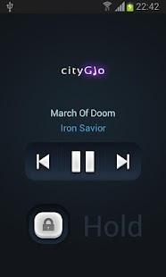 CityGlo Music Player - screenshot thumbnail