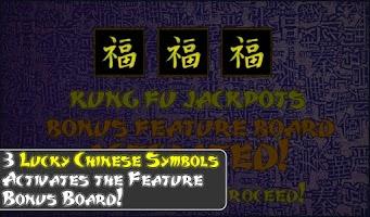 Screenshot of Kung Fu Jackpots Free Slots HD