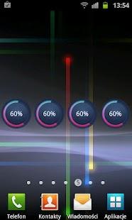 Circle Battery Widget - screenshot thumbnail
