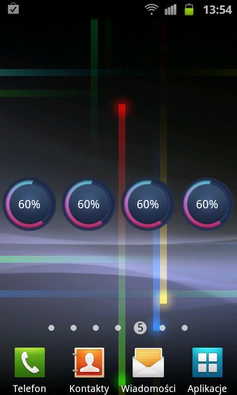 Circle Battery Widget - screenshot