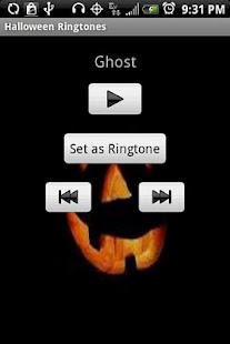 Halloween Ringtones - screenshot thumbnail