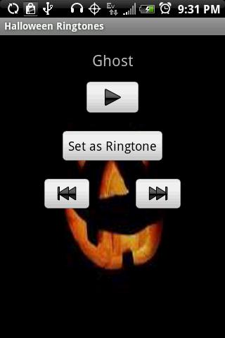 Halloween Ringtones - screenshot