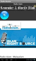 Screenshot of Radio Islam Malayalam
