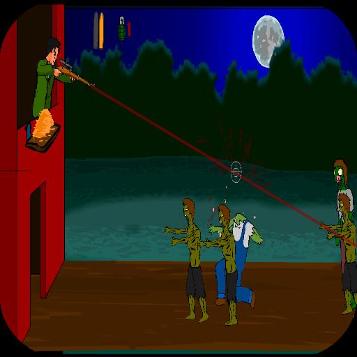 เกมส์ซอมบี้ - เกมส์ยิงซอมบี้ 動作 App LOGO-APP試玩