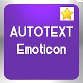 Autotext Emoticon