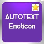 Autotext Emoticon