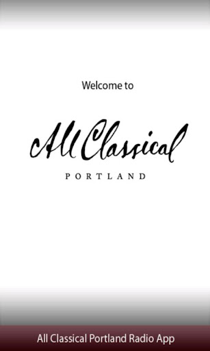 All Classical Portland Radio A
