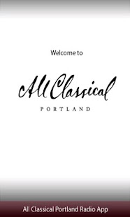 All Classical Portland Radio A - screenshot thumbnail
