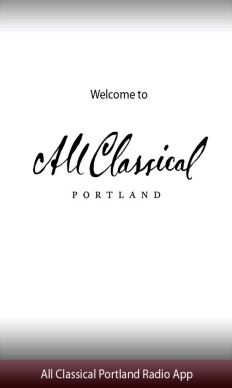 All Classical Portland Radio A - screenshot