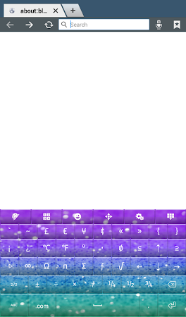 Glitter Keyboard Theme 2.0 screenshot 2012853