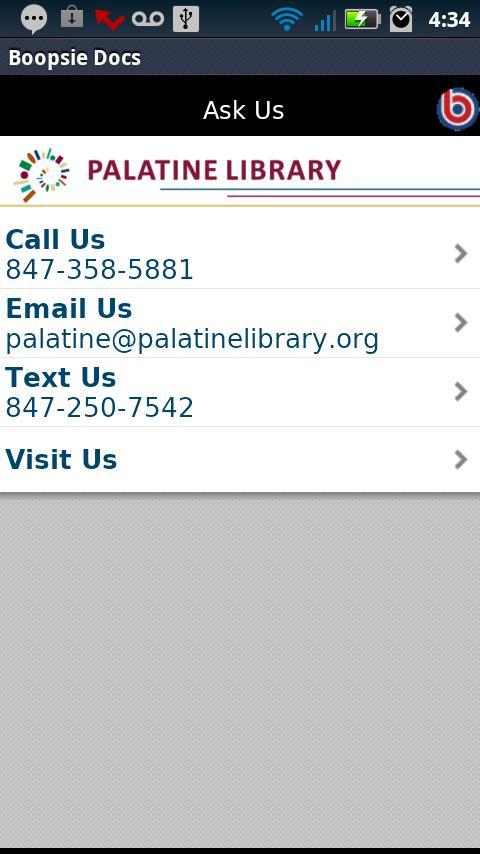 Palatine Library- screenshot
