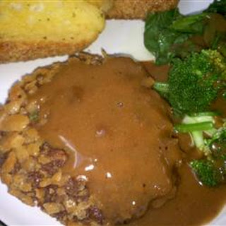 Mock Chicken Fried Steak.