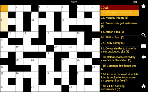 Crossword Puzzle King Lite- screenshot thumbnail