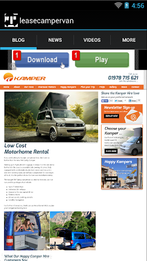 Lease Campervan