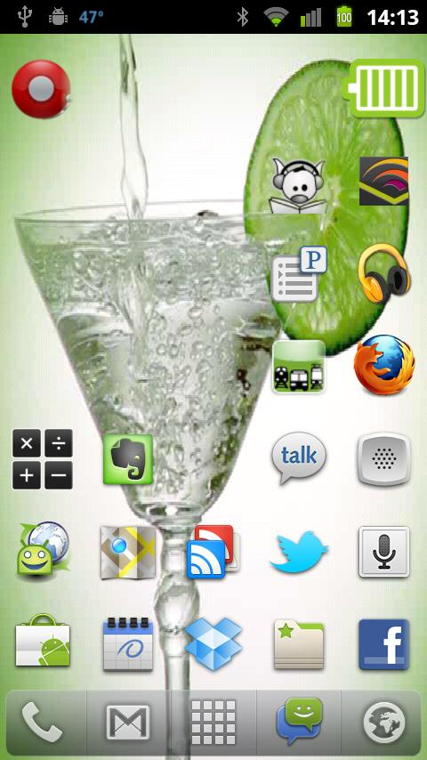Martini Live Wallpaper - screenshot