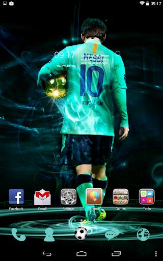 Messi Go Launcher Theme
