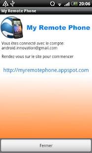 My Remote Phone - screenshot thumbnail