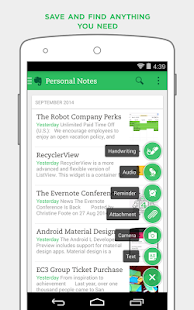 Evernote - stay organized. Screenshot 33