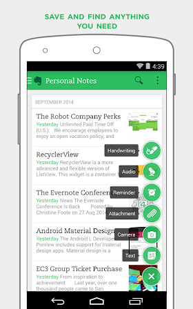 Evernote Premium 6.3.3.1 build 1063314 Final APK