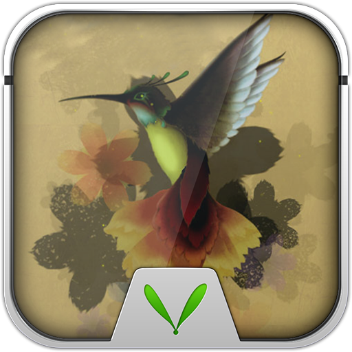 Hummingbird Theme-LockerMaster LOGO-APP點子