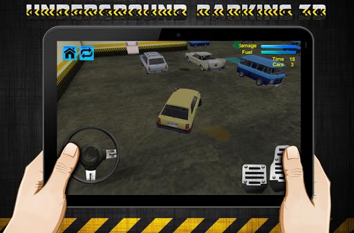 地下停車場3D