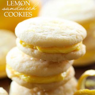 Lemon Sandwich Cookies.