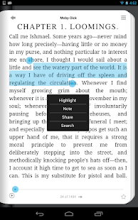 Lektz eBook Reader- screenshot thumbnail