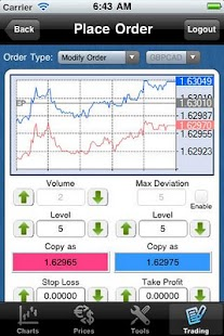 EXNESS MT4 droidTrader - screenshot thumbnail