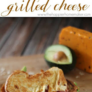 Spicy Bacon Avocado Grilled Cheese.