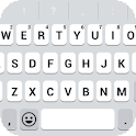 Emoji Keyboard - White Flat