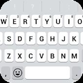 Emoji Keyboard - White Flat