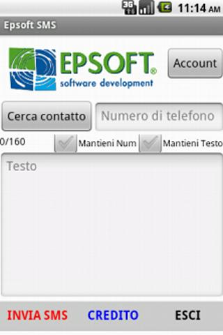 EpsoftSMS - screenshot