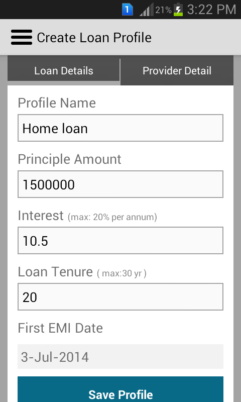 Car loan interest rate payment calculator hdfc bank india