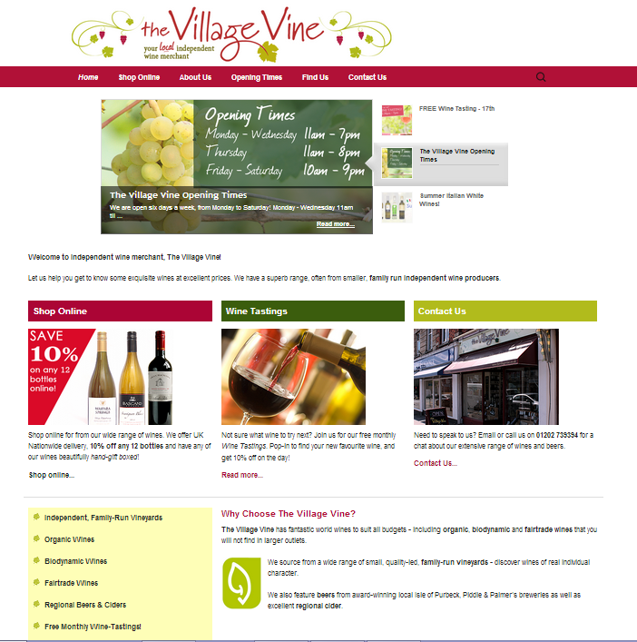 The Village Vine- screenshot