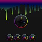 Aurorae Clock Widget icon