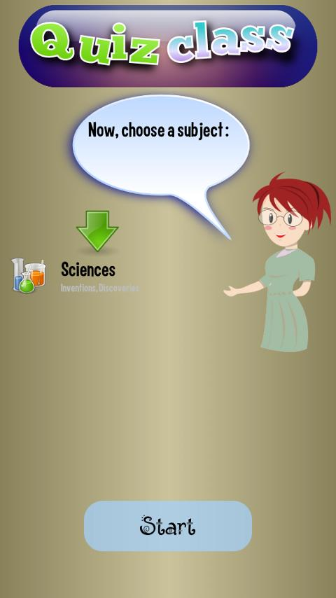 Quiz Class (Trivia game) - screenshot
