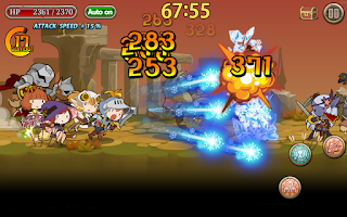 Screenshot of Knights N Squires
