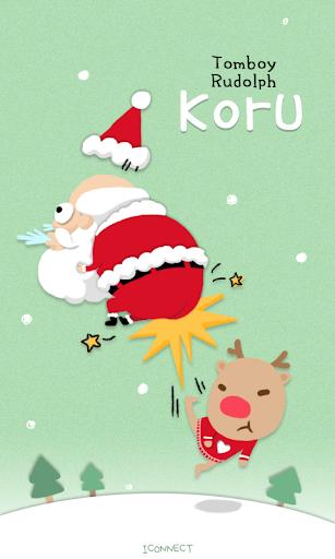 Koru Teasing Santa go launcher