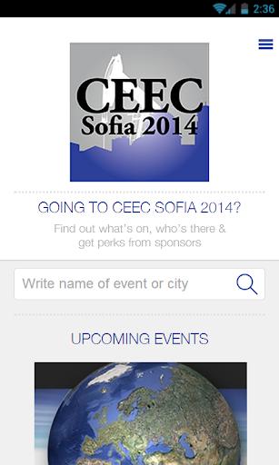 CEEC Sofia 2014