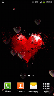 Valentýna Živé Tapety - náhled